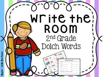 Write the Room:  2nd Grade Dolch Sight Words