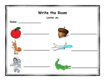 Write the Room - A to Z