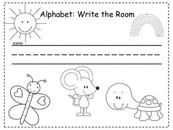 Write the Room: ABC Activity