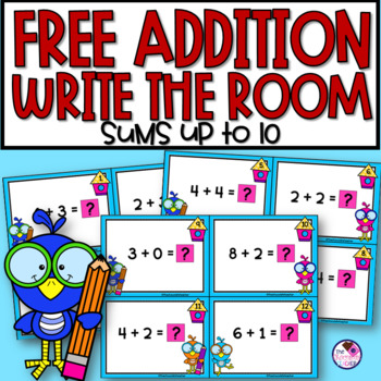 Write the Room Addition Facts to 8