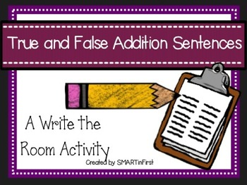 Write the Room Addition Sentences