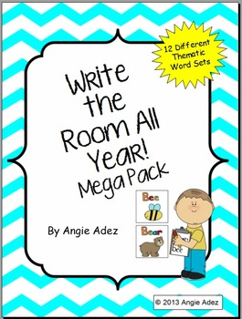 Write the Room All Year! Mega Pack