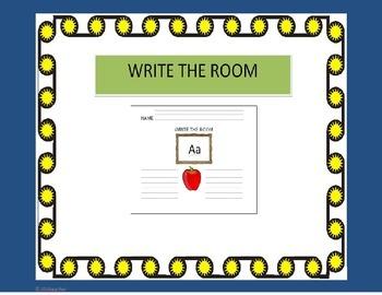 Write the Room Alphabet Center