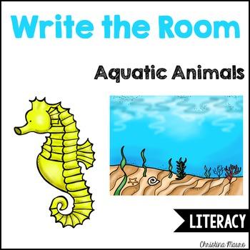 Write the Room - Aquatic Animals