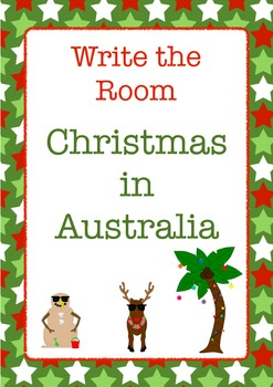 Write the Room: Australian Christmas