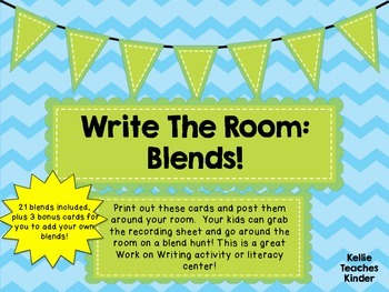 Write the Room: Blends!