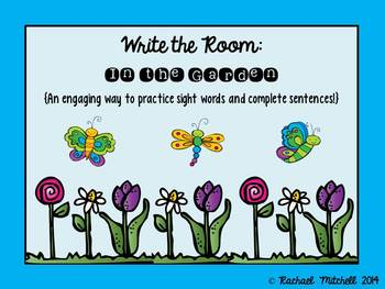 Write the Room: In the Garden