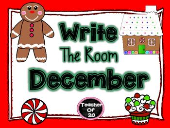 Write the Room Center {December}