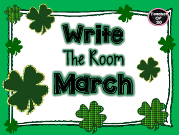 Write the Room Center {March}