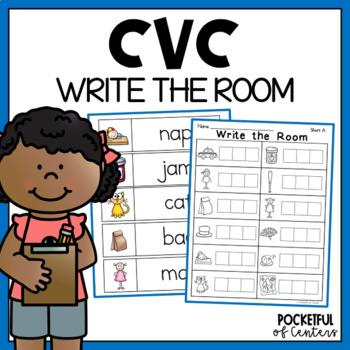 Write the Room - Short Vowels CVC