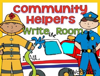 Write the Room {Community Helpers}
