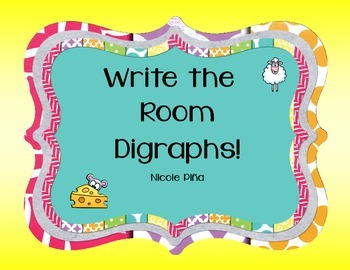 Write the Room- Digraphs