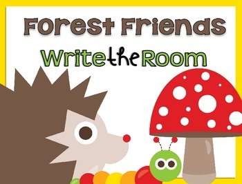 Write the Room {Forest Friends}