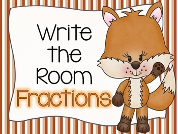 Write the Room Foxy Fractions