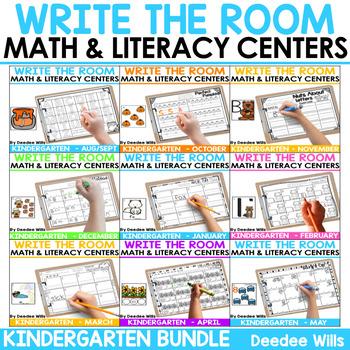 Write the Room K: GROWING BUNDLE
