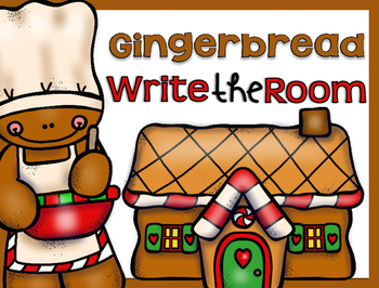Write the Room {Gingerbread}
