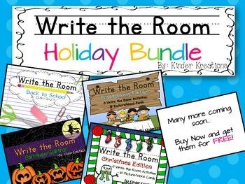 Write the Room: Holiday Bundle