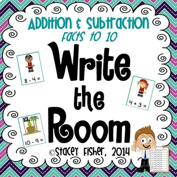 Write the Room Independent Math Centers: Addition and Subt