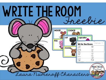 Write the Room {Laura Numeroff}