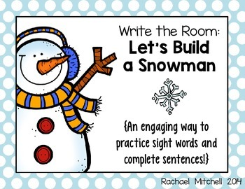Write the Room: Let's Build a Snowman