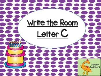 Write the Room Letter C