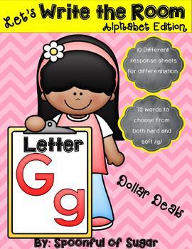 Write the Room: Letter Gg (Dollar Deal)