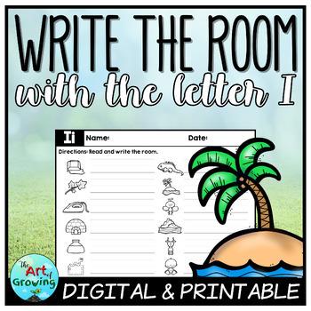 Write the Room - Letter I