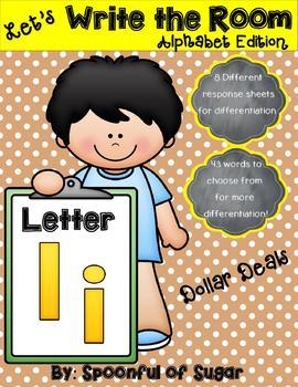 Write the Room: Letter Ii (Dollar Deal)