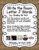 Write the Room - Letter J Words