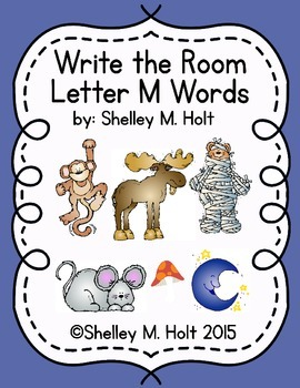 Write the Room - Letter M Words