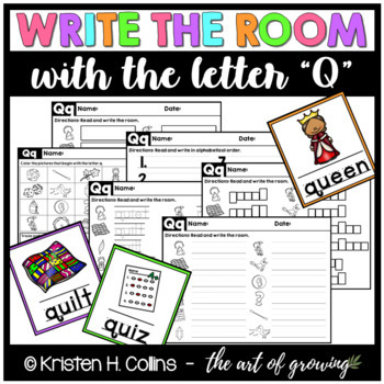 Write the Room - Letter Q