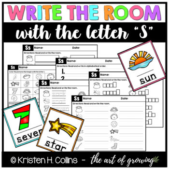Write the Room - Letter S