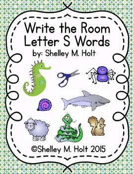 Write the Room - Letter S Words