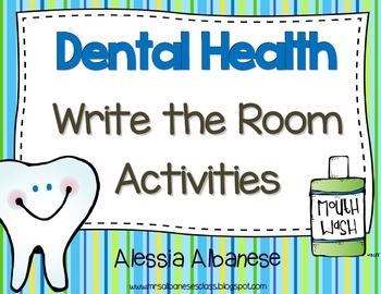 Write the Room Literacy Center - Dental Health