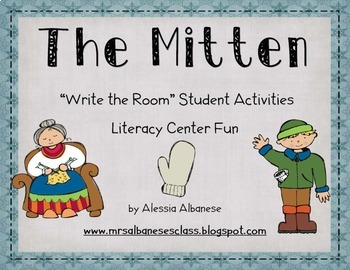 Write the Room Literacy Center - The Mitten