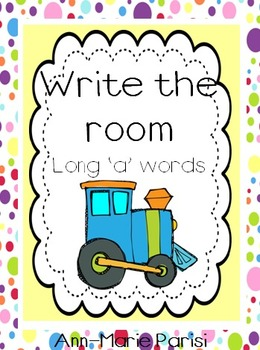 Write the Room, Long 'a' Words