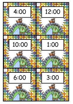 Write the Room - O'Clock Time - Billy Goats Gruff Theme