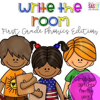 Write the Room - Phonics Edition (30 Hunts for the Year!)