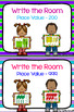 Write the Room - Place Value to 200 & 999 BUNDLE
