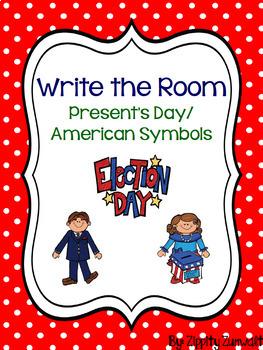 Write the Room - President's Day/American Symbols