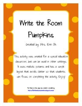 Write the Room - Pumpkins