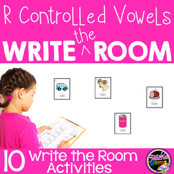 Write the Room R Controlled Vowels