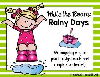 Write the Room: Rainy Days