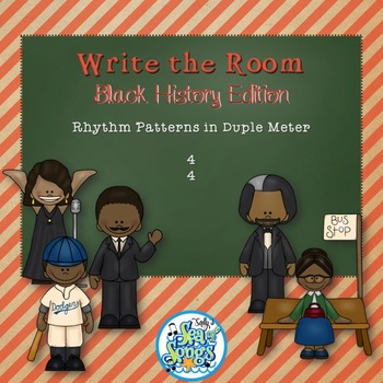 Write the Room Rhythms- Black History Edition