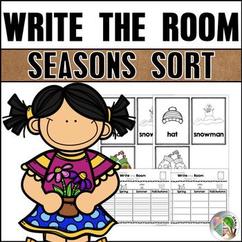Write the Room - Seasons Sort