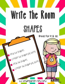 Write the Room: Shapes