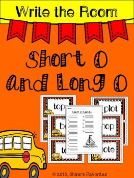 Write the Room {Short/Long O}