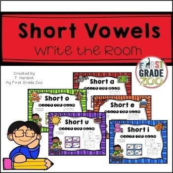 Write the Room - Short Vowel Bundle
