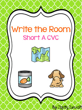 Write the Room - Short a CVC