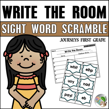 Write the Room Sight Word Scramble First Grade Units 1-6